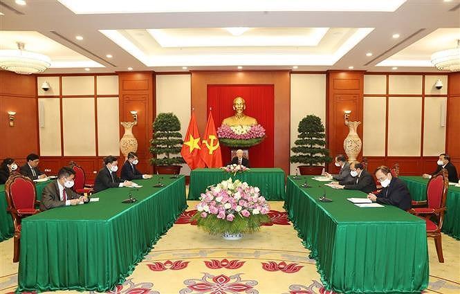 Le Vietnam attache de l'importance a son amitie avec le Sri Lanka hinh anh 2
