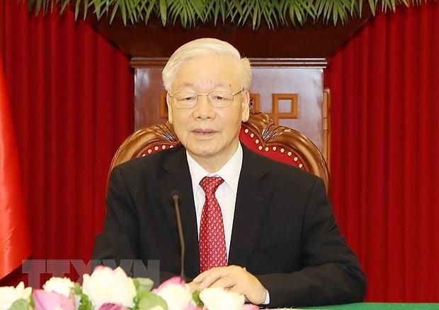 Le leader assistera au Sommet entre le PCC et les partis politiques du monde hinh anh 1