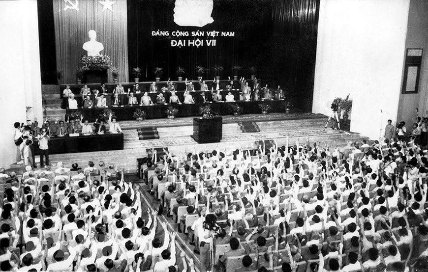 7e Congres national: Continuer l'œuvre de Renouveau et faire avancer le pays vers le socialisme hinh anh 1