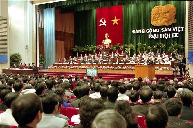 Le 9e Congres national du Parti : valoriser la force de toute la nation hinh anh 1
