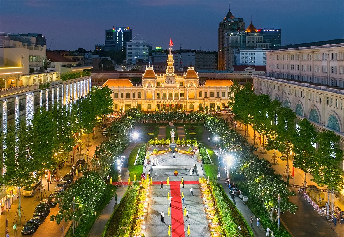 Ho Chi Minh-Ville d'aujourd'hui hinh anh 14