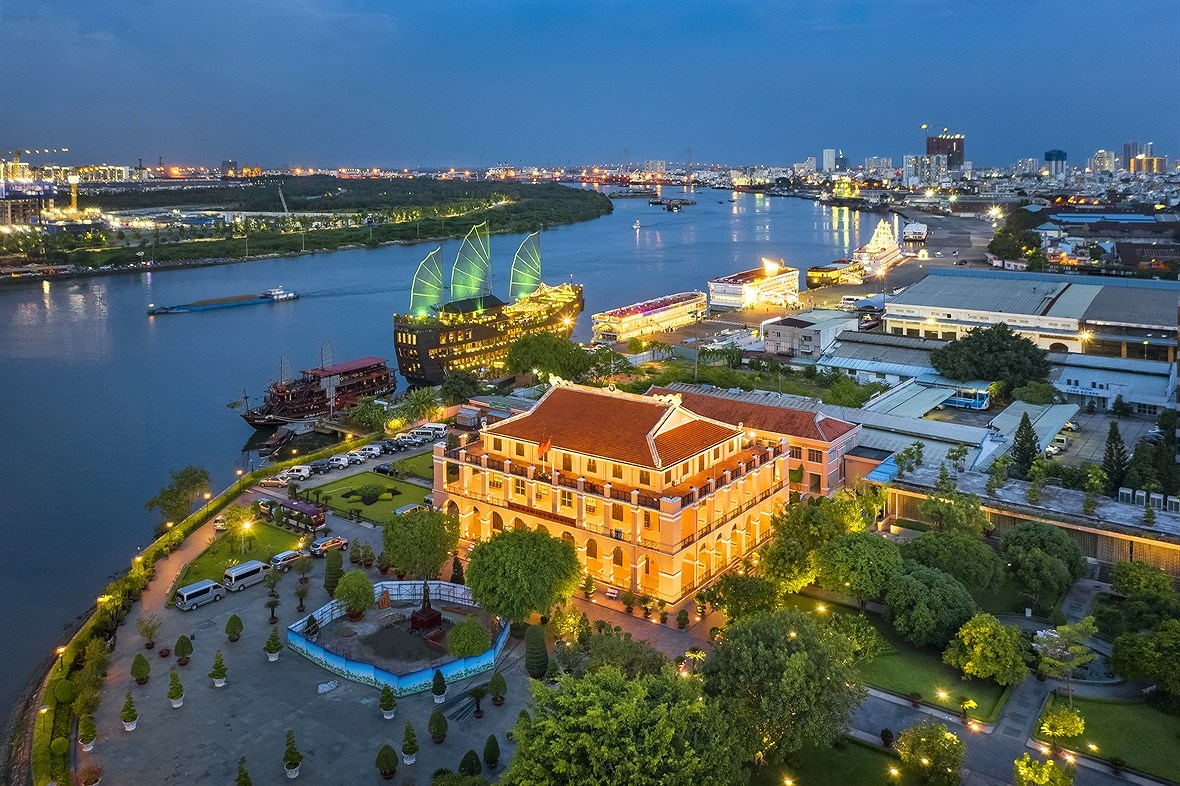 Ho Chi Minh-Ville d'aujourd'hui hinh anh 1