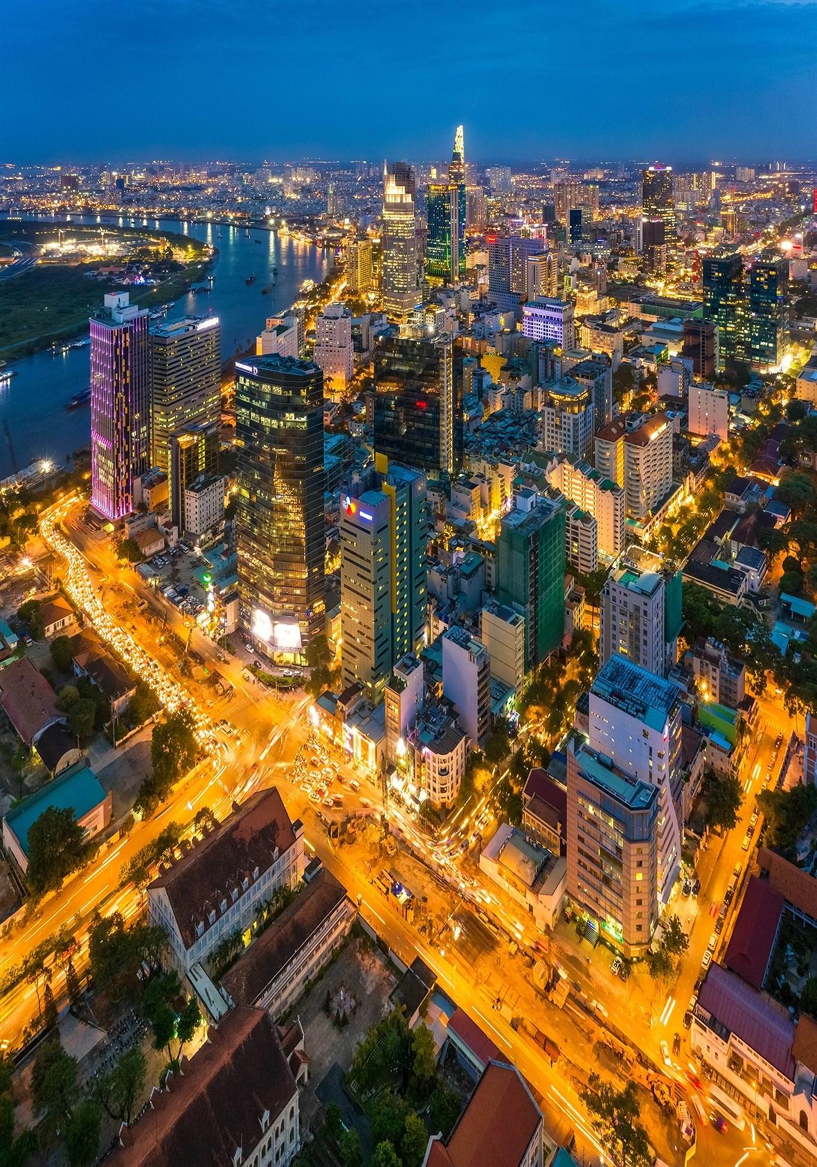 Ho Chi Minh-Ville d'aujourd'hui hinh anh 2