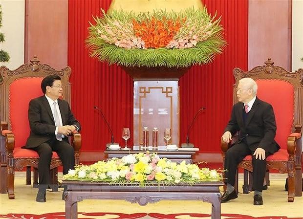 Cultiver les relations de solidarite speciale entre le Vietnam et le Laos hinh anh 1