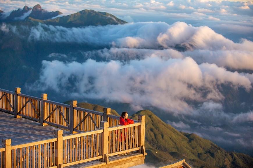 """Море облаков на """"крыше"""" Вьетнама hinh anh 4"""