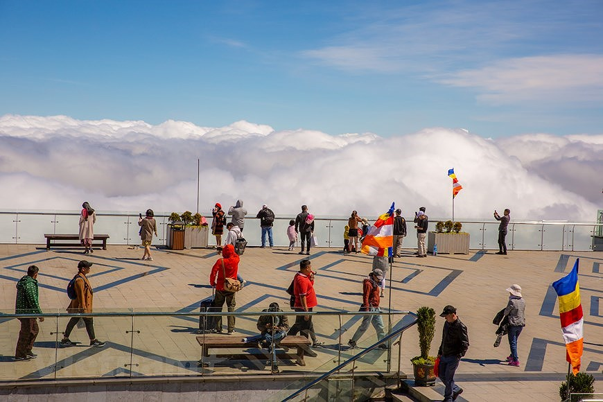 """Море облаков на """"крыше"""" Вьетнама hinh anh 1"""