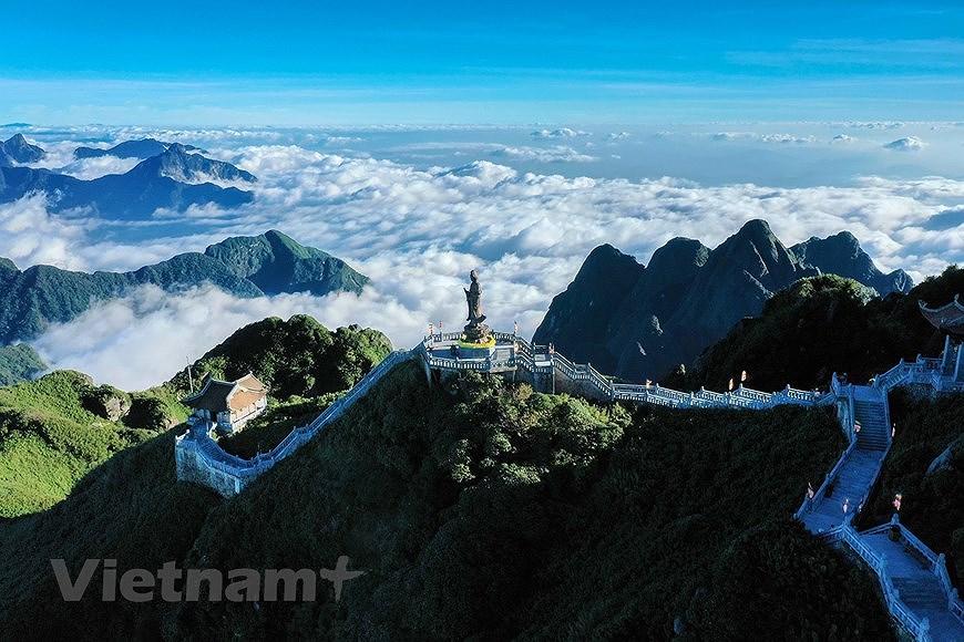 """Море облаков на """"крыше"""" Вьетнама hinh anh 2"""