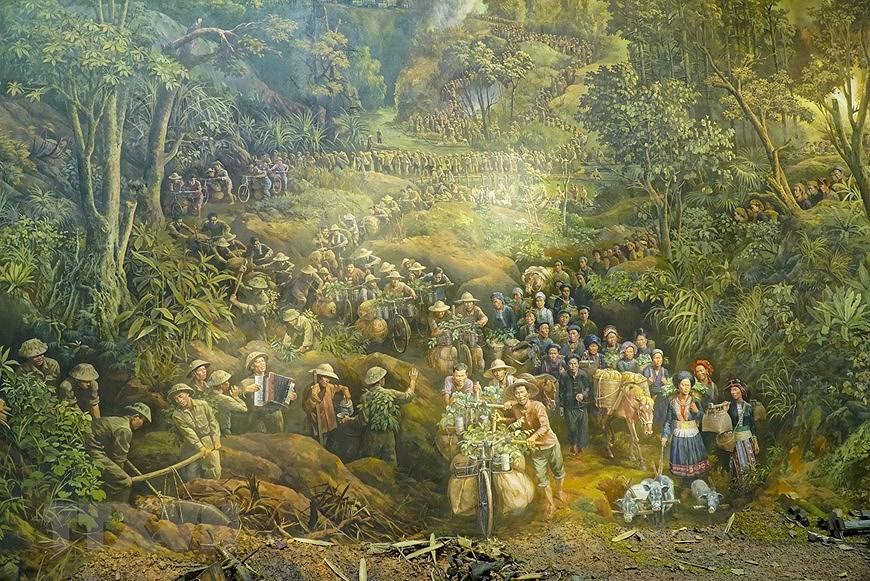 Панорамная картина о битве под Дьенбьенфу hinh anh 1