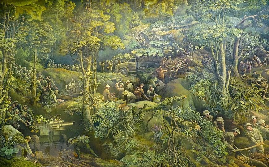 Панорамная картина о битве под Дьенбьенфу hinh anh 4