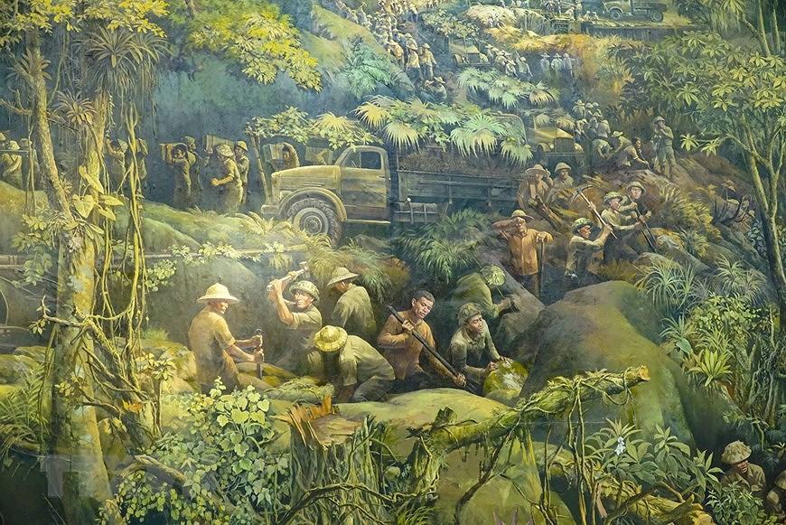 Панорамная картина о битве под Дьенбьенфу hinh anh 9