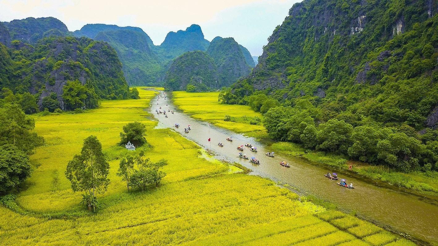 Ниньбинь - привлекательныи краи для туристов hinh anh 1