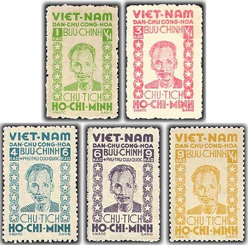 Коллекция марок о президенте Хо Ши Мине hinh anh 13