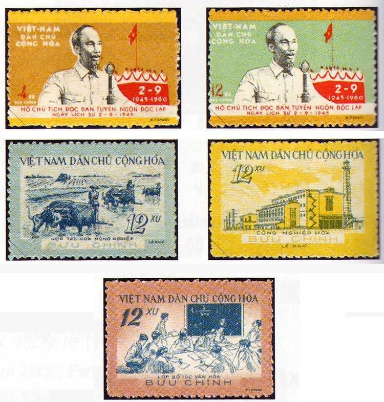 Коллекция марок о президенте Хо Ши Мине hinh anh 4