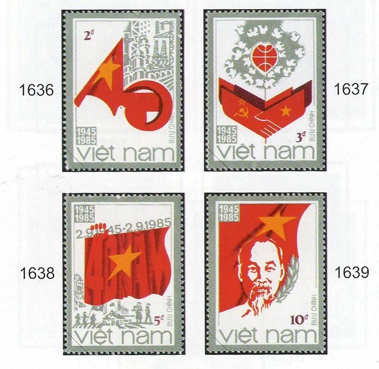 Коллекция марок о президенте Хо Ши Мине hinh anh 6