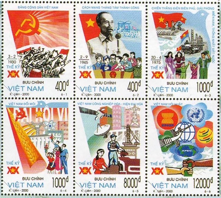 Коллекция марок о президенте Хо Ши Мине hinh anh 9