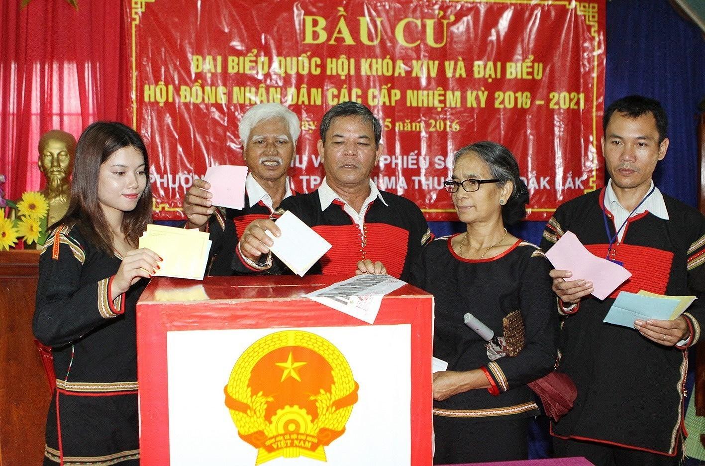 Выборы депутатов Национального Собрания и депутатов Народных Советов всех уровнеи - Всенародныи праздник hinh anh 1