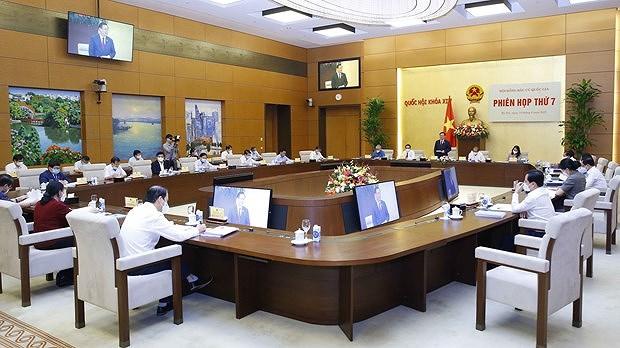 Утверждена резолюция об объявлении результатов выборов НС и список избранных депутатов hinh anh 1