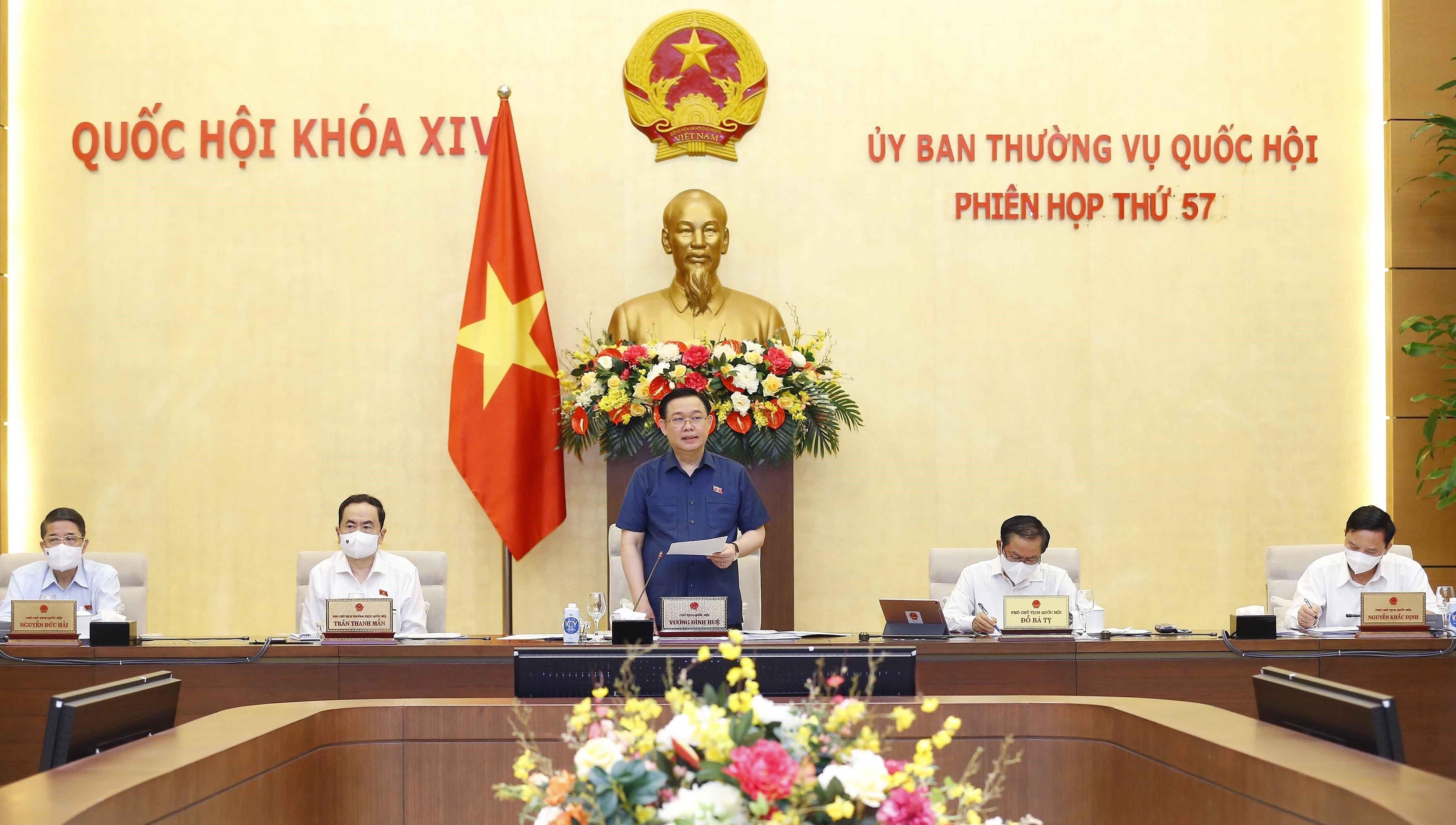 Открылось 57-е заседание постоянного комитета НС hinh anh 1