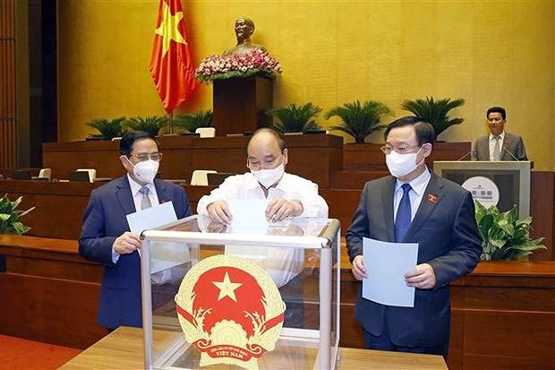 Четыре судьи назначены в Верховныи народныи суд hinh anh 2