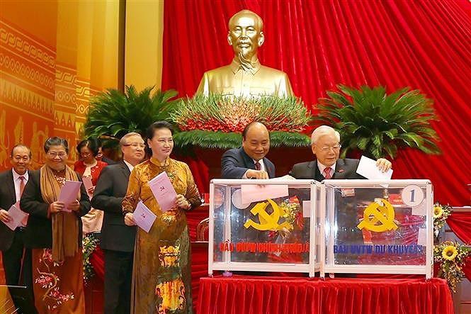 Bi thu Dang uy TTXVN Le Quoc Minh duoc tin nhiem bau vao BCH Trung uong Dang khoa XIII hinh anh 1