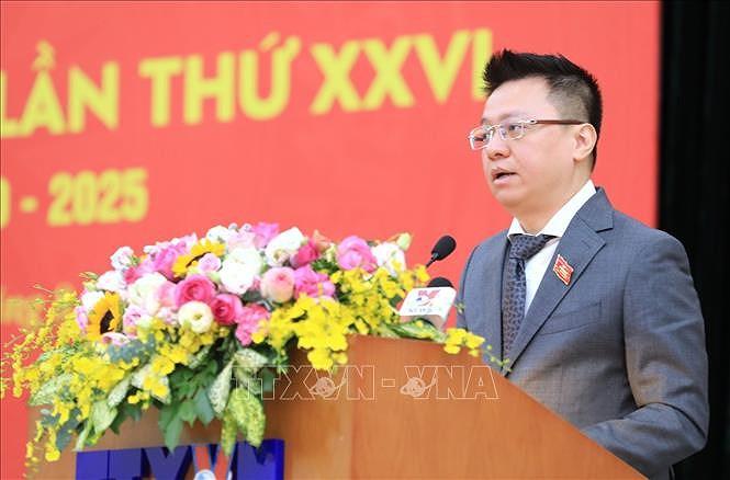 Bi thu Dang uy TTXVN Le Quoc Minh duoc tin nhiem bau vao BCH Trung uong Dang khoa XIII hinh anh 4