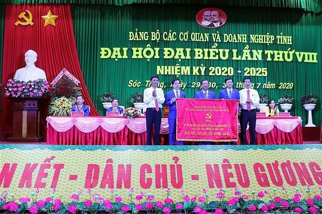 Tinh Soc Trang hoan thanh Dai hoi Dang bo cap tren co so hinh anh 1