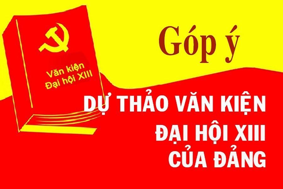 Nguoi dan Hai Phong dong gop y kien vao Du thao Bao cao chinh tri hinh anh 1