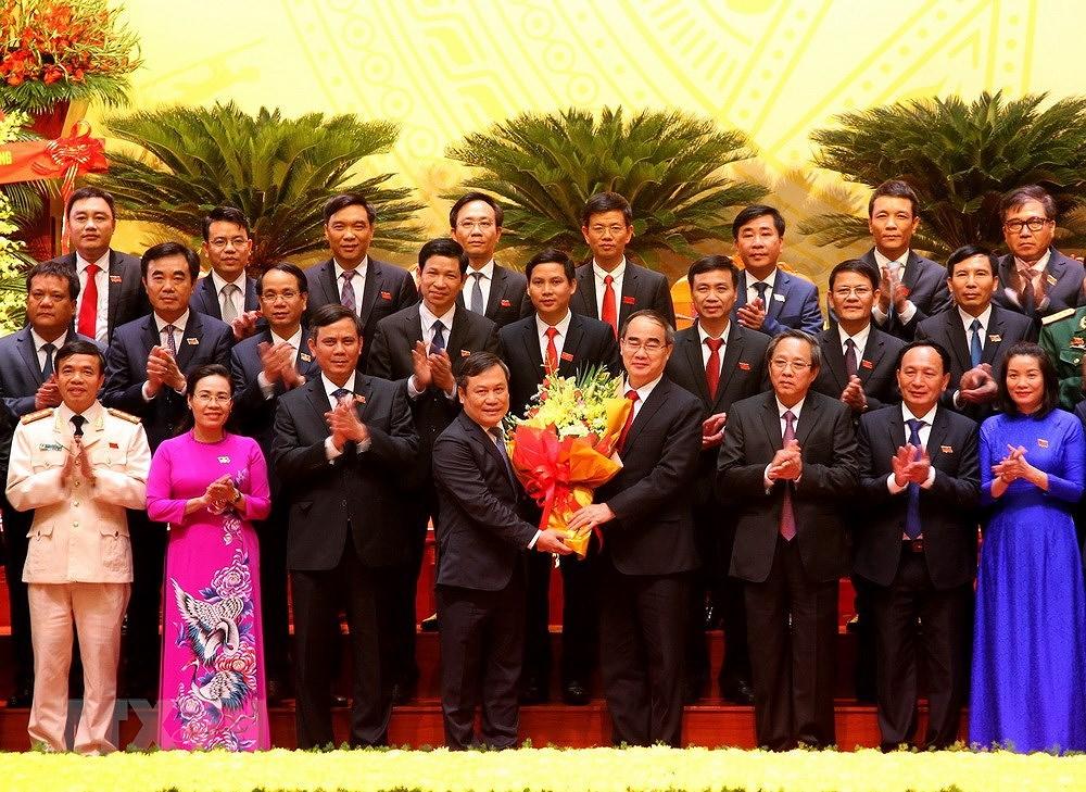 Ong Vu Dai Thang duoc bau tiep tuc giu chuc Bi thu Tinh uy Quang Binh hinh anh 1
