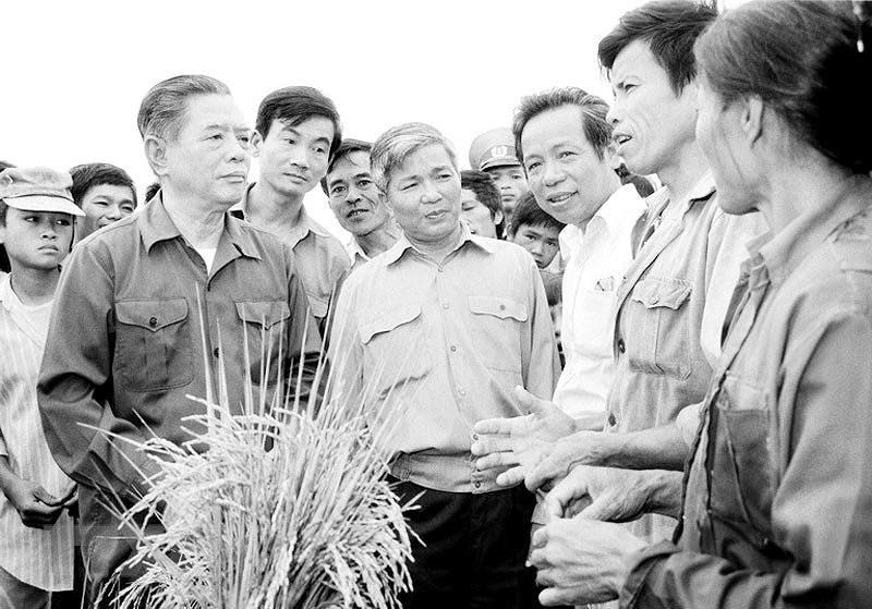 Dai hoi lan thu VI cua Dang: Khoi xuong va lanh dao su nghiep doi moi hinh anh 19