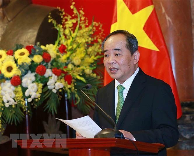 Bo nhiem ong Le Khanh Hai giu chuc Chu nhiem Van phong Chu tich nuoc hinh anh 1