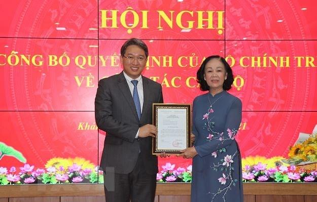 Ong Nguyen Hai Ninh duoc dieu dong giu chuc Bi thu Tinh uy Khanh Hoa hinh anh 1