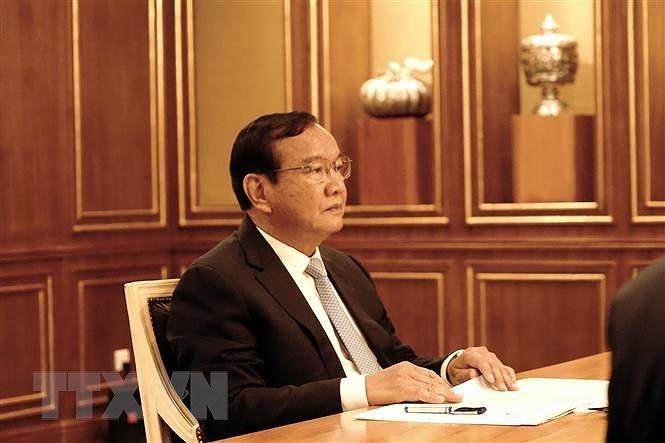 Viet Nam thong bao ket qua Dai hoi XIII toi Dang Nhan dan Campuchia hinh anh 2
