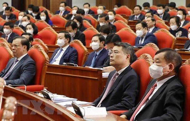 Hinh anh khai mac Hoi nghi lan thu ba Ban Chap hanh TW Dang khoa XIII hinh anh 9