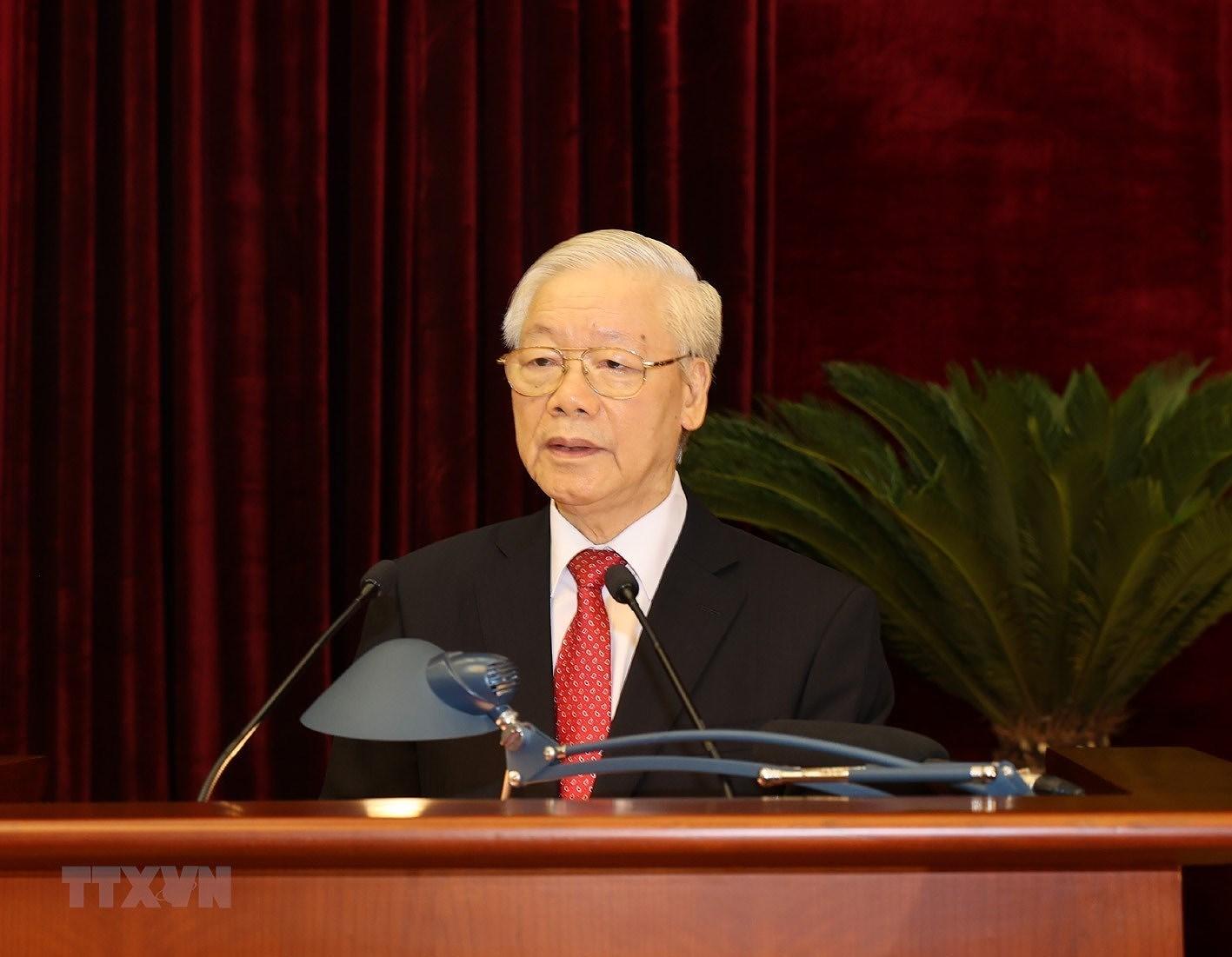 Be mac Hoi nghi lan thu ba Ban Chap hanh Trung uong Dang khoa XIII hinh anh 3