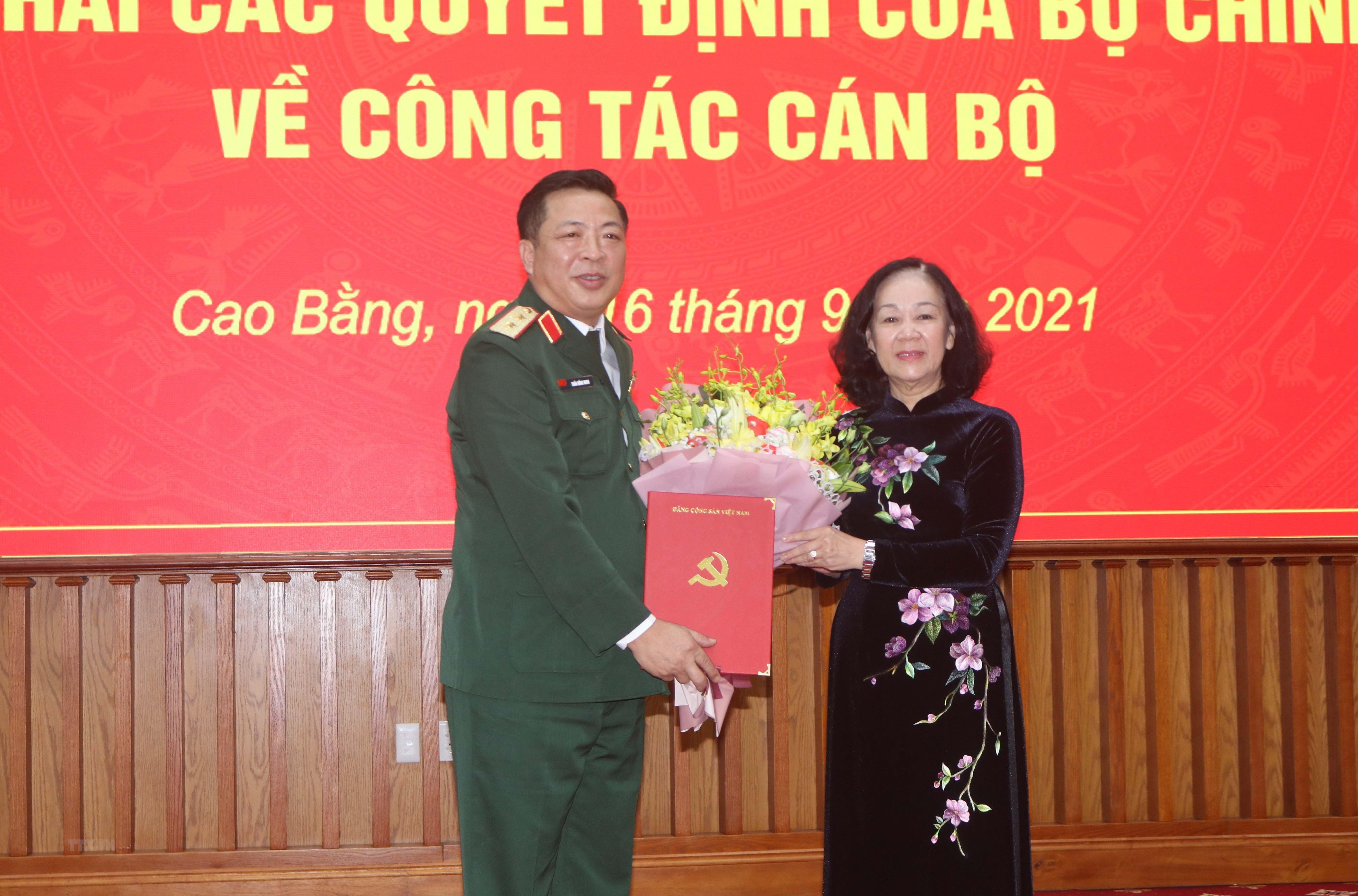 Ong Tran Hong Minh duoc dieu dong lam Bi thu Tinh uy Cao Bang hinh anh 1