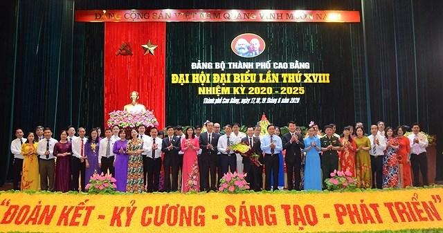 Tinh Cao Bang hoan thanh dai hoi dai bieu cap tren co so hinh anh 1