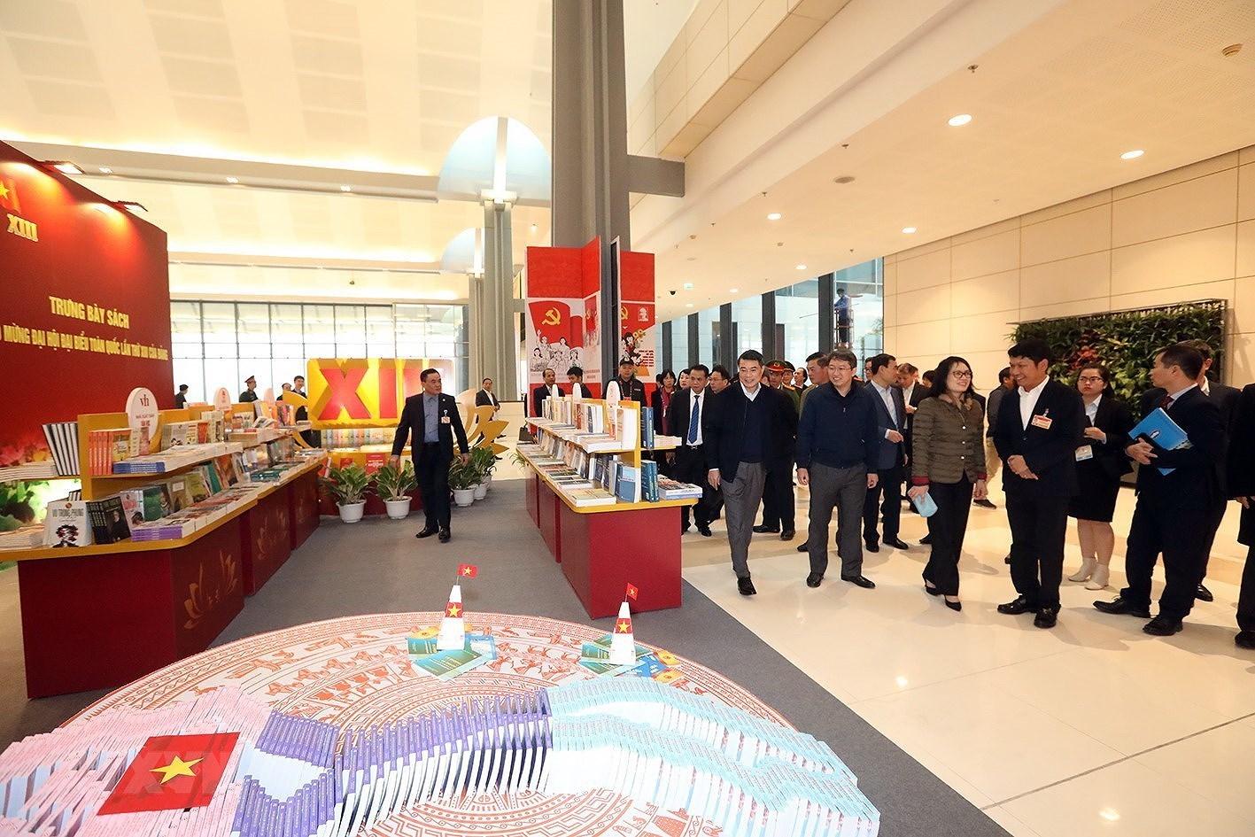 [Photo] Kiem tra cong tac chuan bi phuc vu Dai hoi XIII cua Dang hinh anh 3
