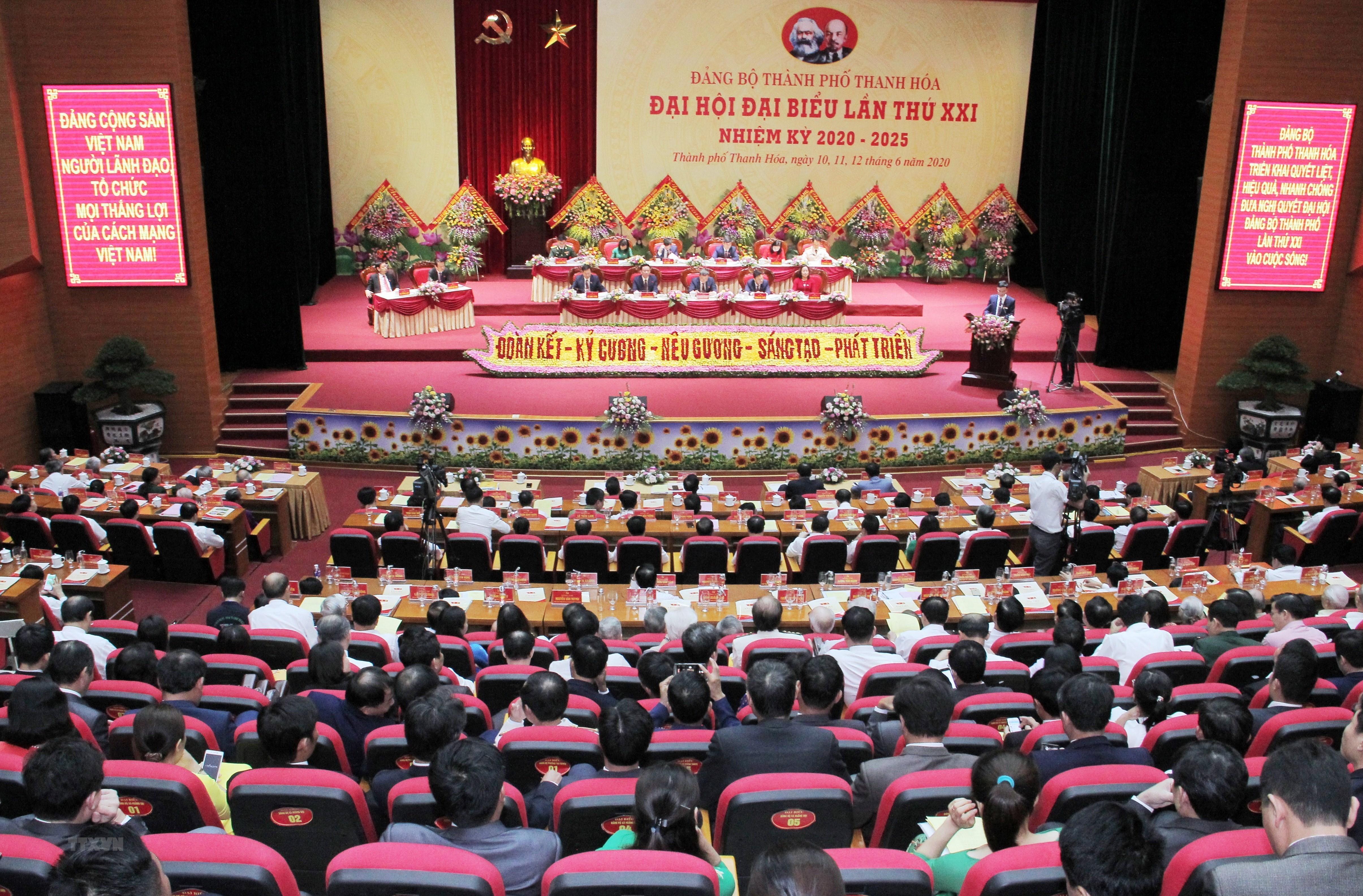 Thanh Hoa to chuc dai hoi diem Dang bo thanh pho Thanh Hoa hinh anh 1
