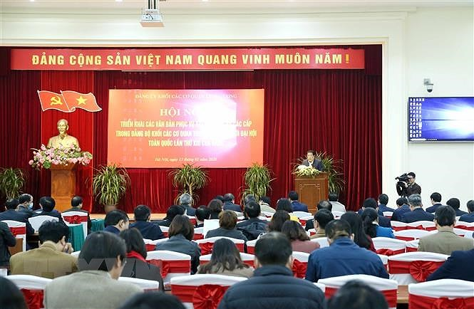 Dai hoi Dang cap co so: Chac tung khau, chuan tung buoc hinh anh 1