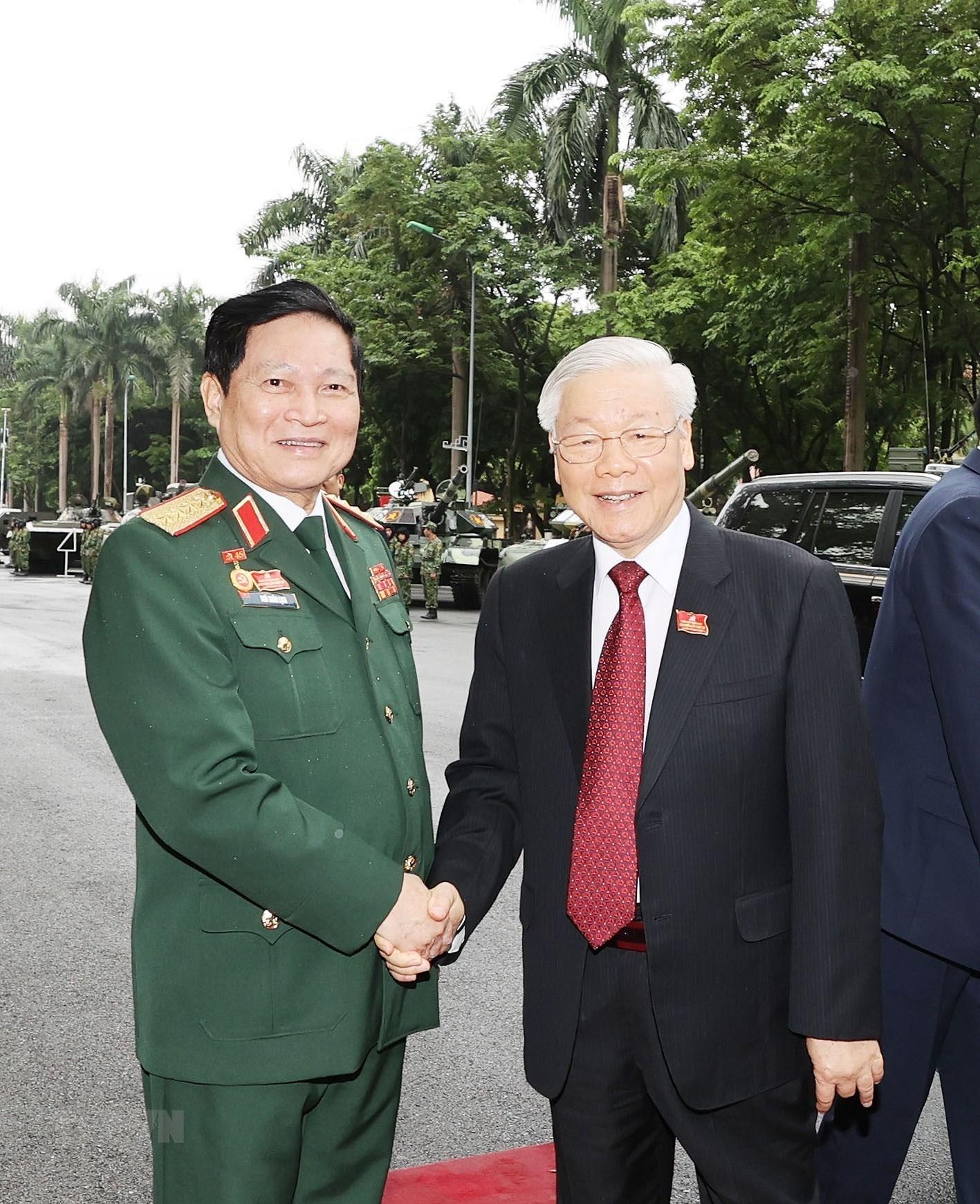 Hinh anh khai mac Dai hoi dai bieu Dang bo Quan doi lan thu XI hinh anh 11