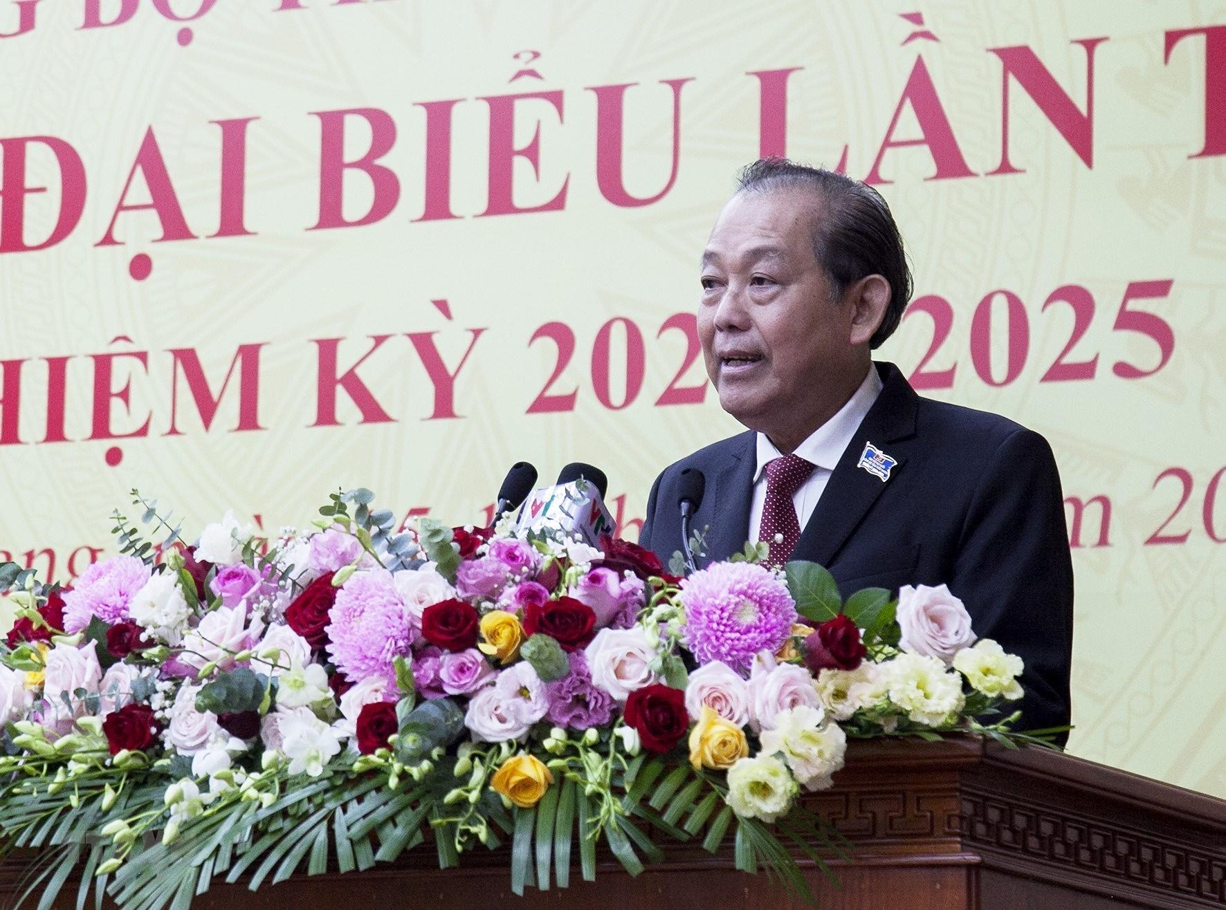 Khai mac Dai hoi Dang bo tinh Kien Giang lan XI nhiem ky 2020-2025 hinh anh 1