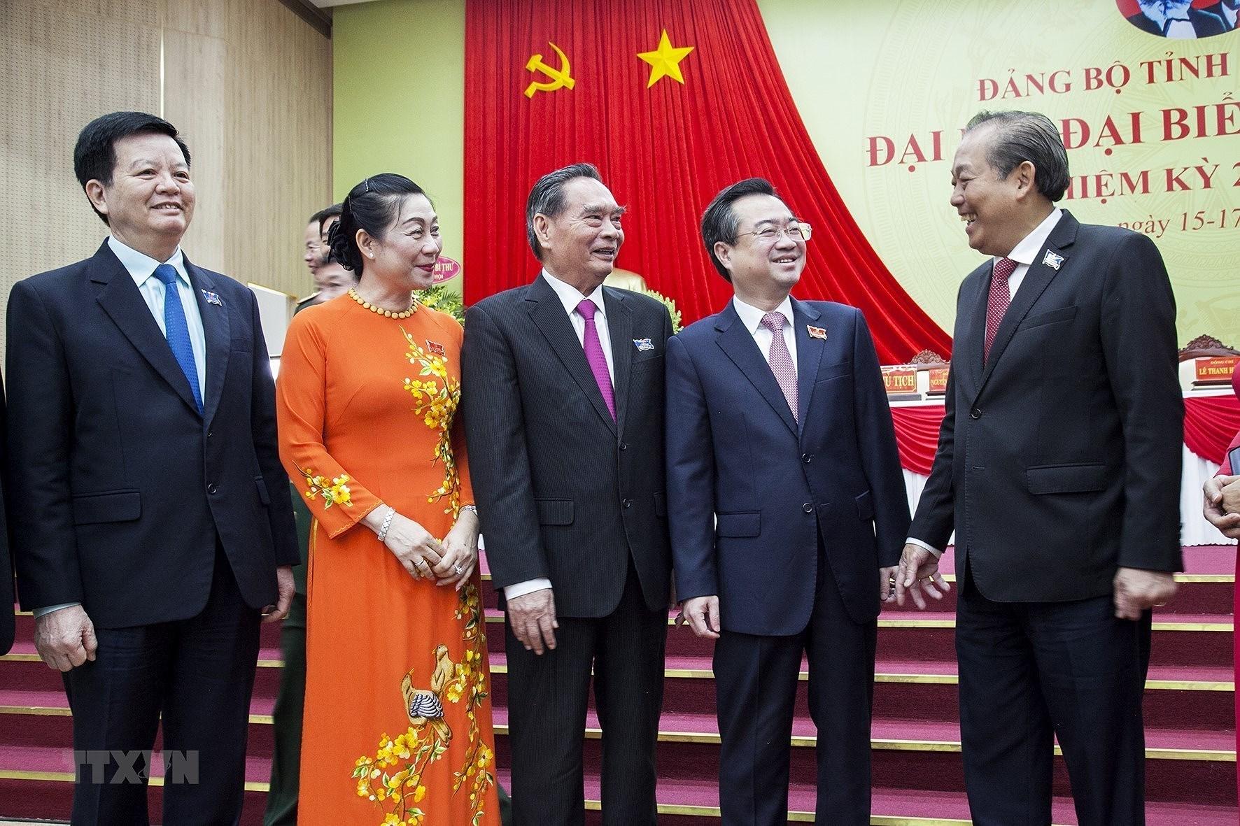 Khai mac Dai hoi Dang bo tinh Kien Giang lan XI nhiem ky 2020-2025 hinh anh 5