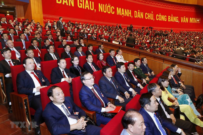 [Photo] Hinh anh phien hop tru bi Dai hoi XIII cua Dang hinh anh 51