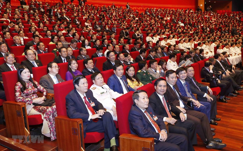 [Photo] Hinh anh phien hop tru bi Dai hoi XIII cua Dang hinh anh 52