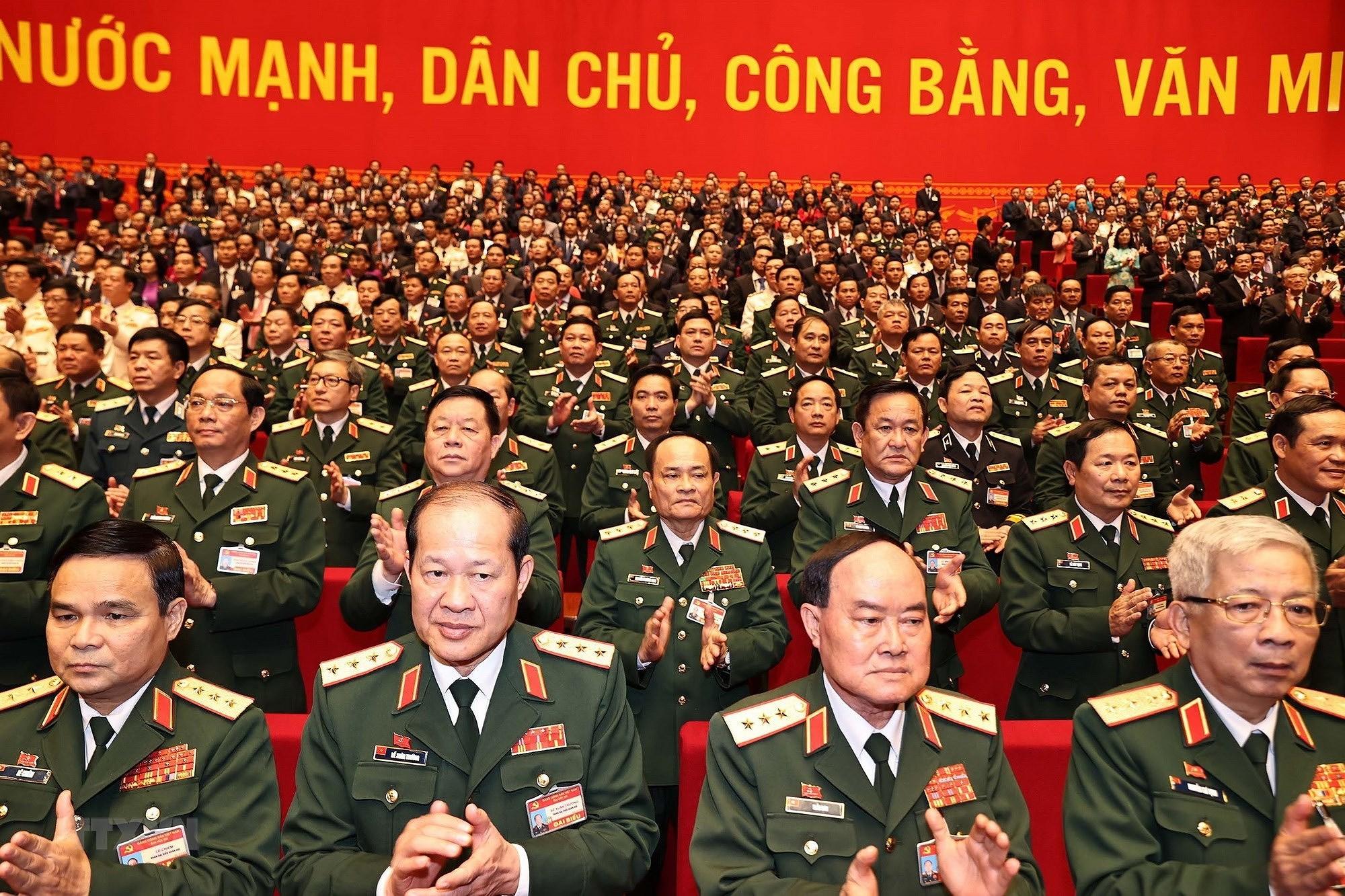 [Photo] Hinh anh phien hop tru bi Dai hoi XIII cua Dang hinh anh 56