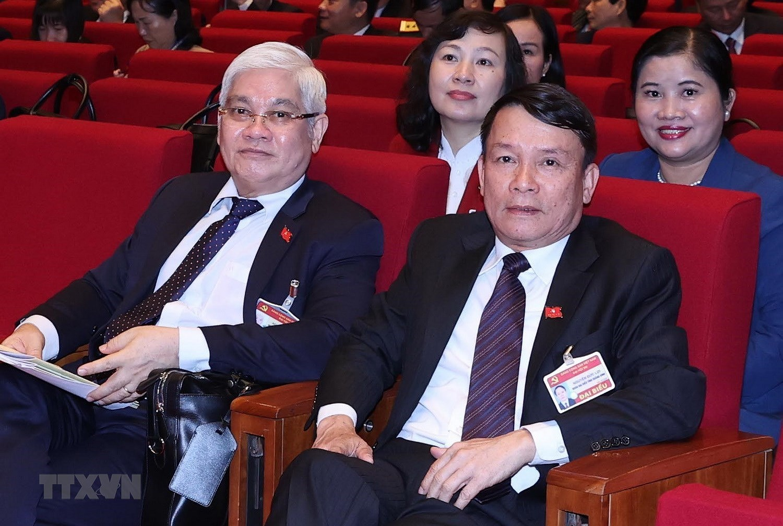 [Photo] Hinh anh phien hop tru bi Dai hoi XIII cua Dang hinh anh 59