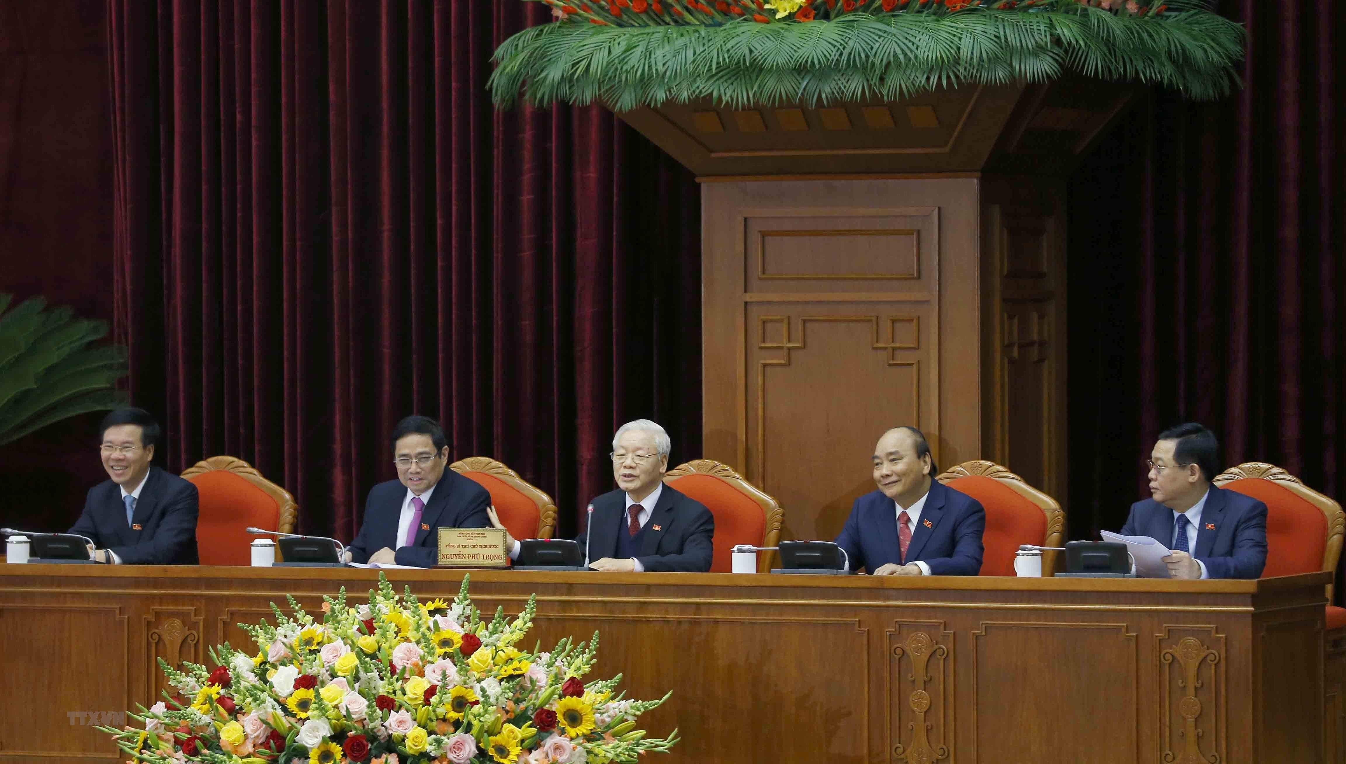 [Photo] Dong chi Nguyen Phu Trong duoc bau lam Tong Bi thu hinh anh 8