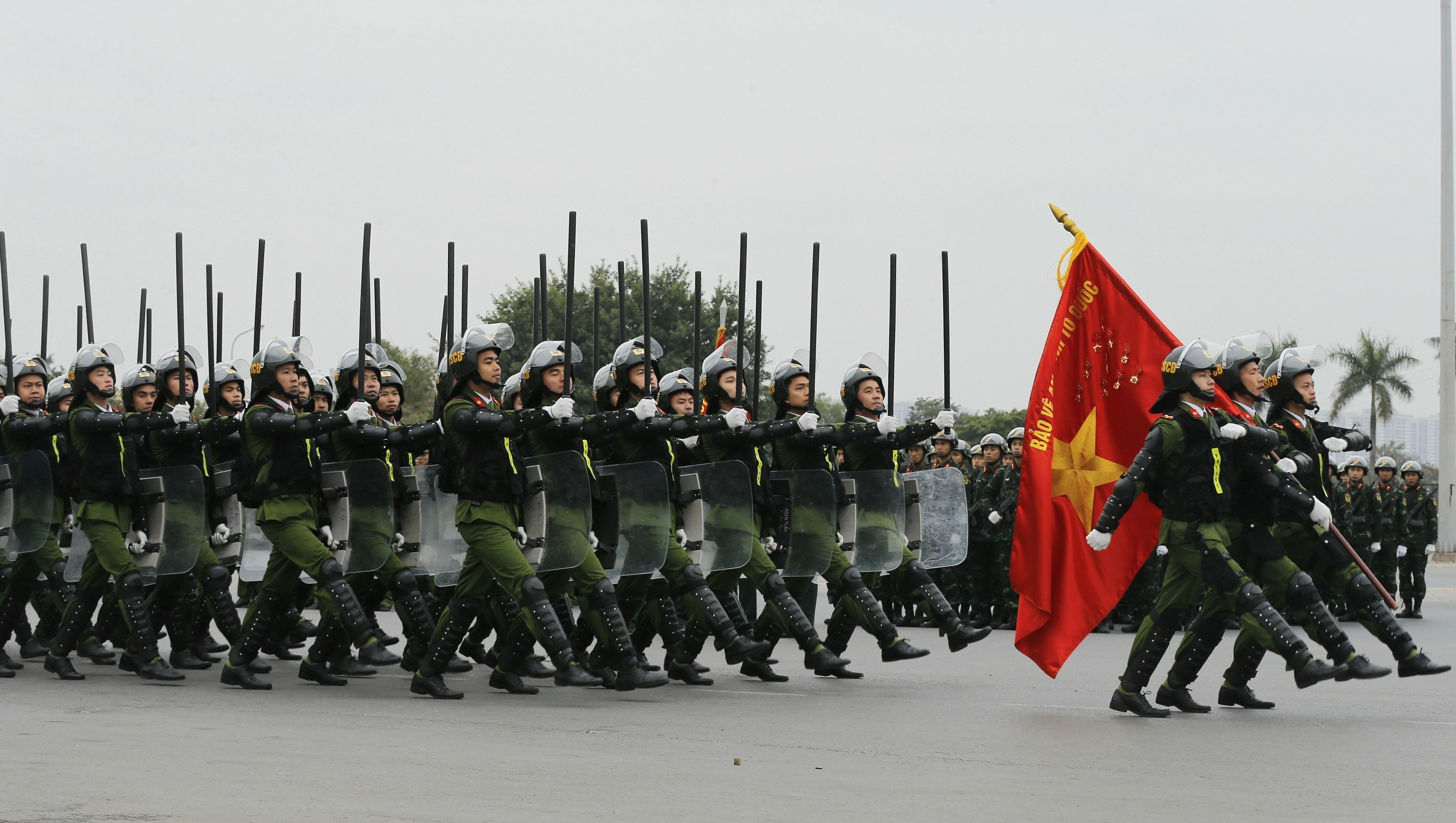Le xuat quan, dien tap phuong an bao ve Dai hoi lan thu XIII cua Dang hinh anh 3