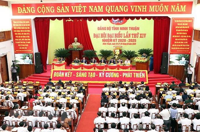 Xay dung Dang: Ninh Thuan dua Nghi quyet cua Dang vao cuoc song hinh anh 1