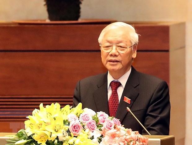 Tong Bi thu: Chuan bi va tien hanh that tot Dai hoi XIII cua Dang hinh anh 1